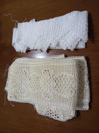 Quatro rendas para lençol  e almofadas