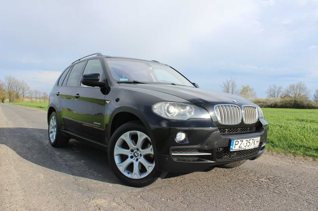 BMW X5 35D X-drive Polski Salon Full Opcja, Bezwypadkowy