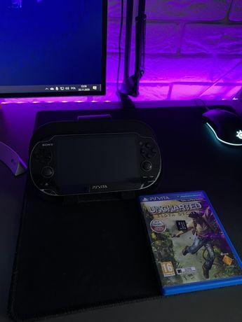 Sony PlayStacion Vita + Uncharted: Złota Otchłań + karta 4GB