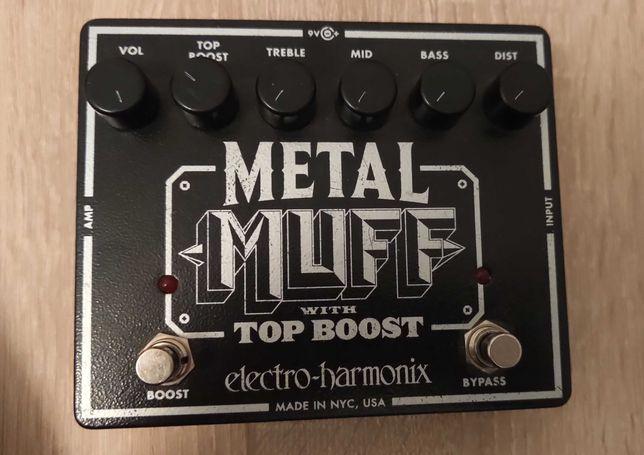 Electro-Harmonix Metal Muff Made in NYC, USA