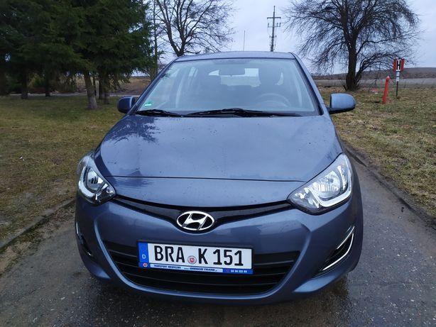 Hyundai i20 1.2 benzyna ,przebieg 70 tyś