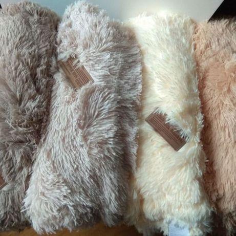 Теплый и модный меховый плед поуторка покрывало травка на кровать