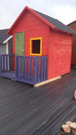 Domek dla dzieci- drewniany- idealny na lato!