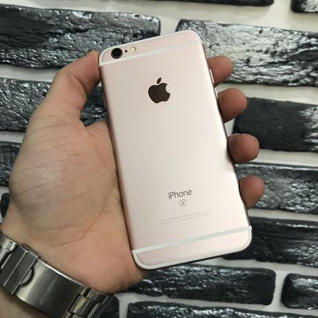 Apple iPhone 6S 128GB Rose Gold Neverlock(также space/silver/16/32гб)
