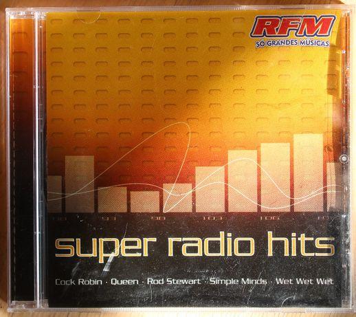 CD - Super Radio Hits, em excelente estado