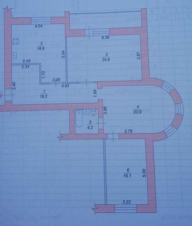 3-х комнатная квартира в НОВОСТРОЕ на Корольова