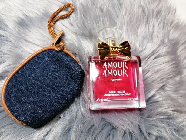 Amour Amour for woman  100 ml. Plus kosmetyczka