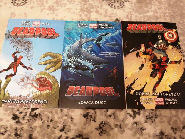 Deadpool Marvel Now Egmont tomy 1 - 3