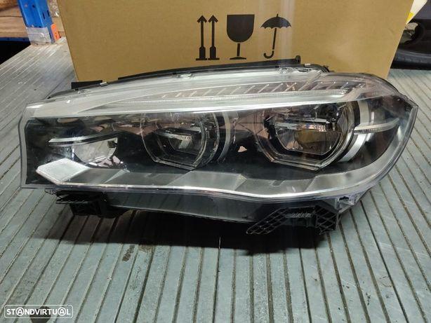 Farol Direito Esquerdo Adaptive LED BMW X5 F15 X6 F16 8738673 7471348 7471347 7410684 Optica direita