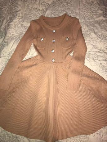 Платье фирменное Alaia Zara Mango нарядное повседневное