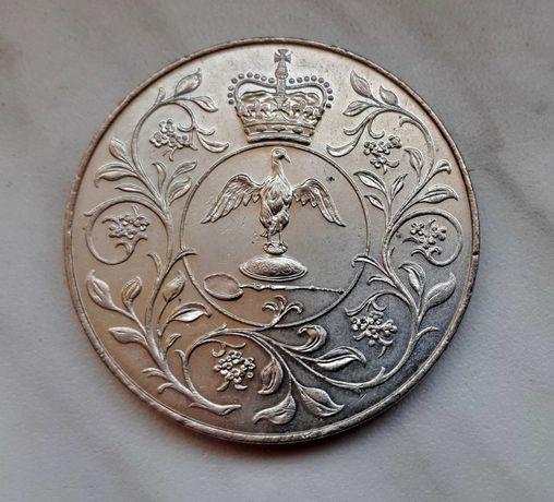 114) ANGLIA - 25 Pensów - 1977 r. Elżbieta II