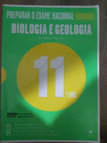 Livro de preparação para exame biologia e geologia