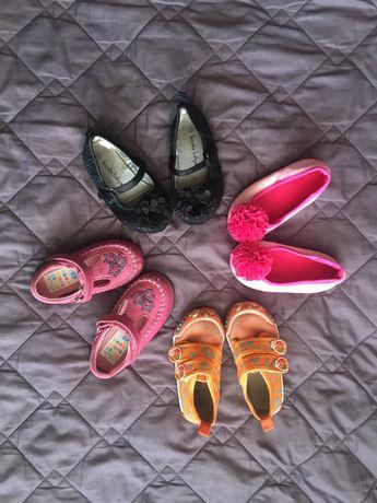 Пакет взуття для дівчинки 21-22 р.