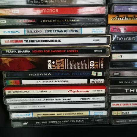 Vários cds jazz/rnb/pop/rock/metal