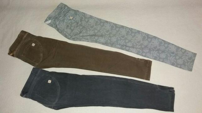 Spodnie r.146 ze stretchem