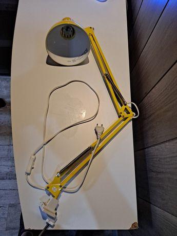 Lampa żóła  do biórka