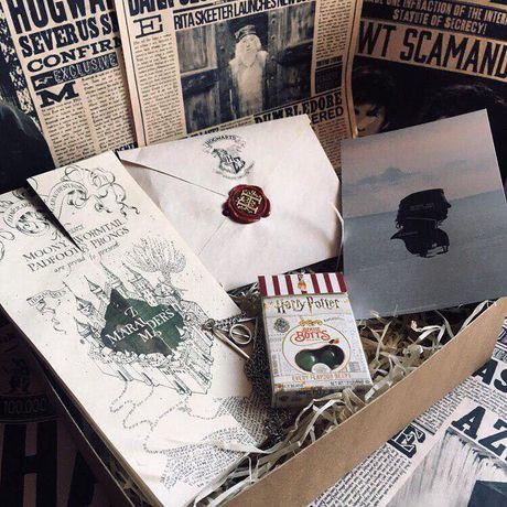 Хогвартс подарок коробка Гарри Поттер