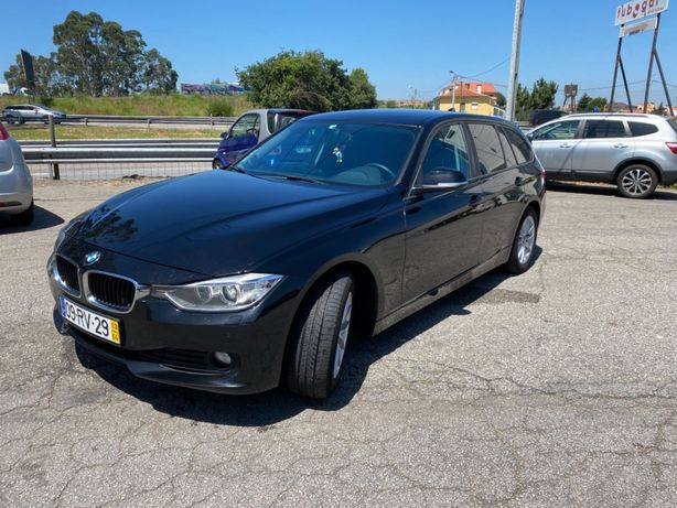 BMW 318D Touring F31 Carrinha 2013 GPS, película e extras