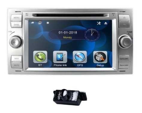 Radio DVD GPS FORD Mondeo Focus Kuga C Max PL + kamera