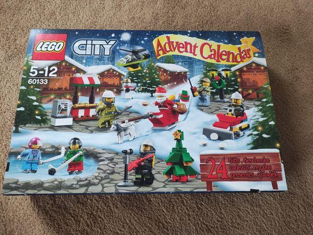 Lego city kalendarz świąteczny wszystko kompletne z częściami zapas