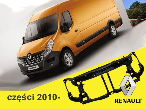 Pas wzmocnienie MASTER2010 Renault przod Movano czołówka lampy zderzak