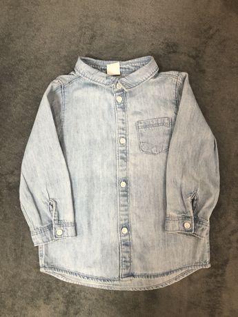 Koszula jeansy 86 (92)
