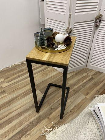 Прикроватный столик. Журнальный стол лофт