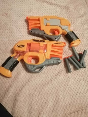 Zabawkowe pistolety Nerfy