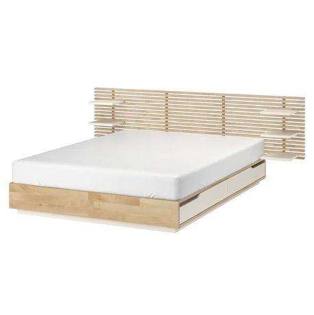Łóżko ze stelażem 140x200