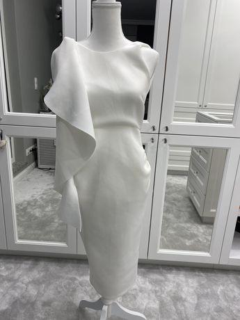 Elegancka midi sukienka ciążowa True Violet