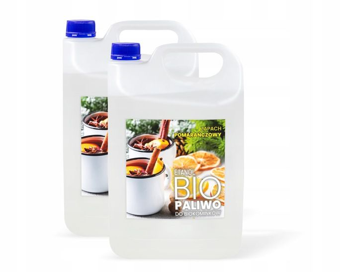 BIOETANOL BIOKOMINEK 10L pomarańcz paliwo etanol Brzeg - image 1