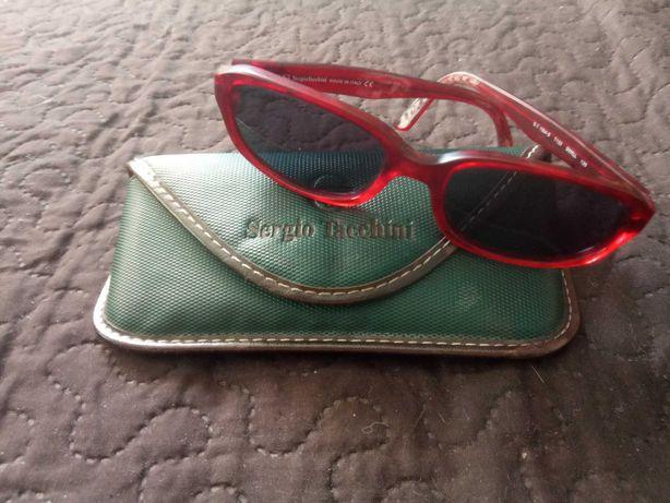 Old vintage Sergio Tacchini óculos de sol