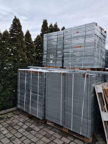 Półki pólka regałowa do regałów metalowa ocynk 35x121cm większa ilość
