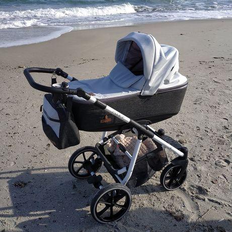 Детская коляска 2 в 1 Riko Swift Natural Stone