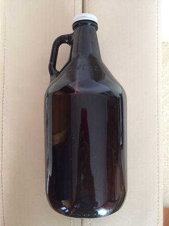 Butelka Vintage szklana z korkiem 2000ml