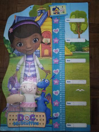 Puzzle com medidor de altura Dra Brinquedos (Portes gratis)