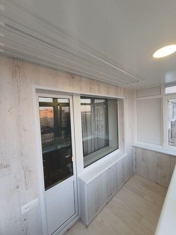 Балконы под ключ. Внутренняя отделка. Изготовление металлоконструкций.