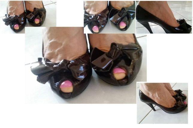 szpilki, czółenka, lakierki, venezia, lakierowane, buty damskie