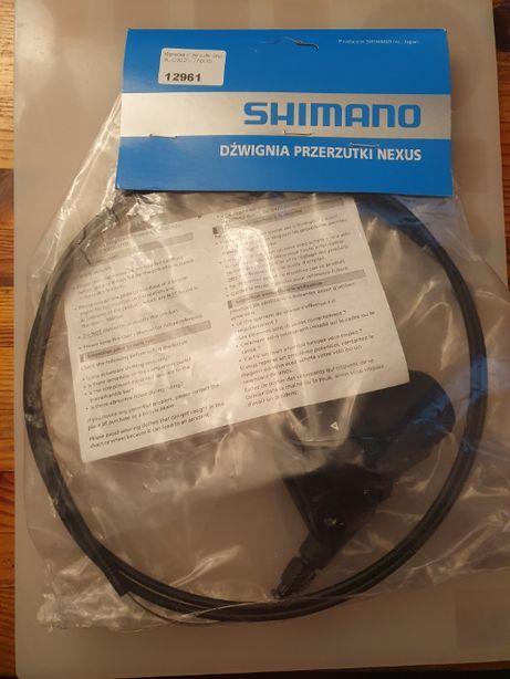 Manetka przerzutki Shimano NEXUS SL-C3000-7 7 biegów