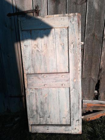 Stare Drzwi Drewniane Dębowe