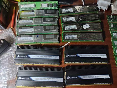 DDR 1-2-3 Оперативка ОЗУ