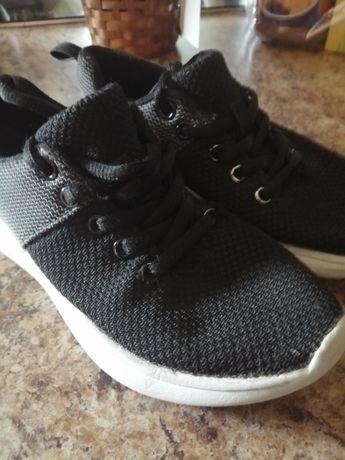 Buty sportowe czarno szare Nie znoszone