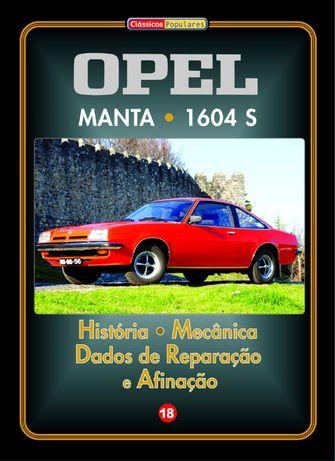 Manual de Oficina dos Opel Manta / 1694 S em Português