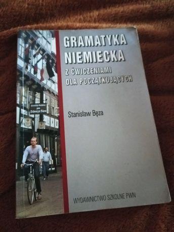 Podręcznik z gramatyką niemiecką i ćwiczeniami