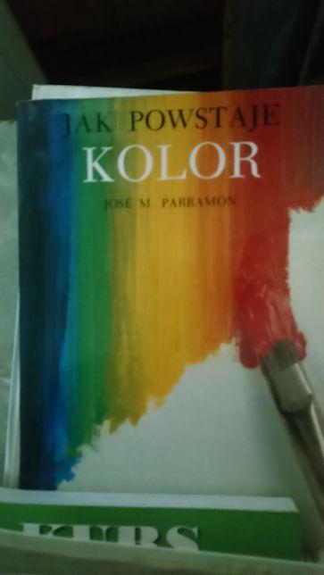 Jose M. Parramon Jak powstaje kolor