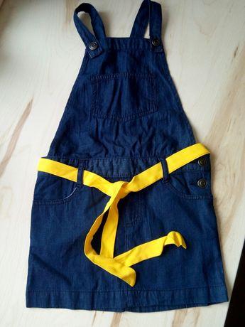 сарафан джинсовый, облегченный, 5 лет