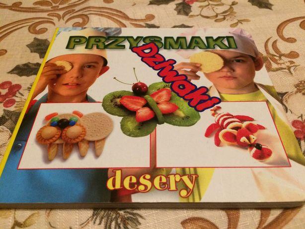 Książka Przysmaki Dziwaki desery