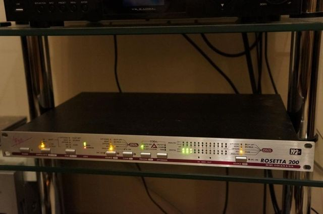 Apogee Rosetta 200 /Power MAC G5 / Echo MIA