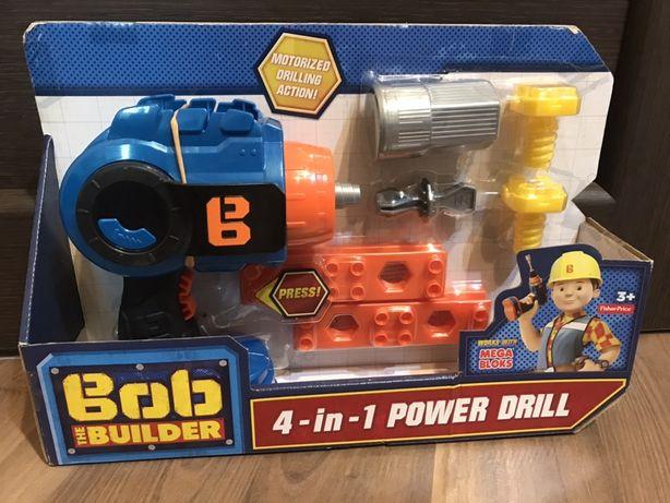 Набор инструментов Fisher-Price Bob the Builder, 4-in-1 Power Drill