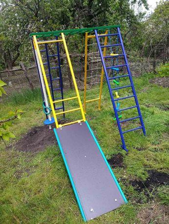 Детский Игровой Комплекс Ухтышка Спортивный уличный комплекс для детей
